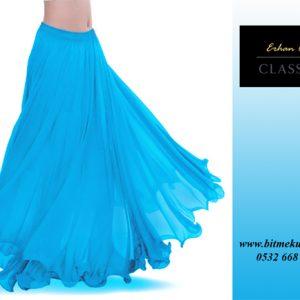 Buz mavi Dansöz Eteği