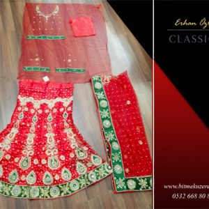 Kırmızı Hint Elbisesi