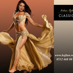 Gold Dansöz Elbisesi