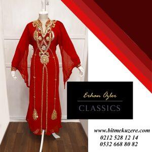 Uzun Hint Elbisesi